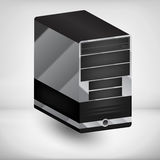 Computer case Stock Image
