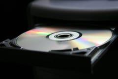 Computer CD/DVD tray Stock Photos