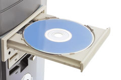 Computer cd-rom Royalty Free Stock Photography
