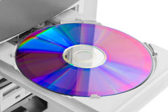 Computer cd-rom Stock Photography
