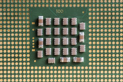 Computer central processing unit Royalty Free Stock Photos