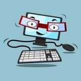 Computer-Charakter Lizenzfreies Stockfoto