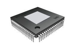Computer chip Royalty Free Stock Images