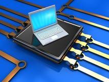 Computer-Chip Stockbild