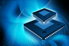 Computer chip Stock Photos