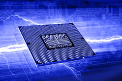 Computer chip Royalty Free Stock Photos