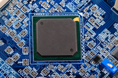 Computer chip Royalty Free Stock Image
