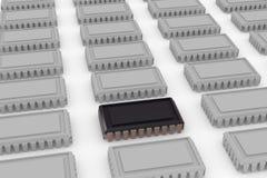 Computer-Chip Stockfotografie