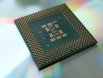 Computer Chip Royalty Free Stock Photography