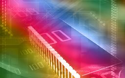 Computer chip Stock Image