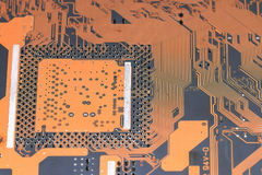 Computer chip background Royalty Free Stock Photos