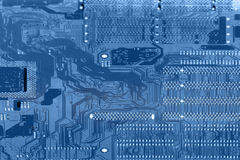 Computer chip background Royalty Free Stock Photo