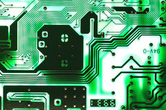 Computer chip background Stock Photos
