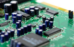 Computer chip bourd Stock Image