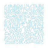 Computer chip circuit. Icon vector illustration graphic design royalty free illustration
