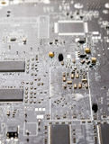 Computer chip closeup Royalty Free Stock Image