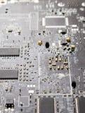 Computer chip closeup Royalty Free Stock Image