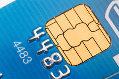 Credit Card close-up Royalty Free Stock Photos