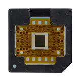 The computer chip on white background,isolated Royalty Free Stock Photo