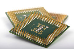 Computer chips Stock Photography
