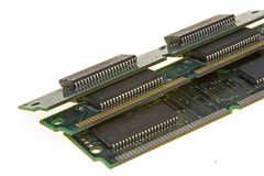 Computer chips Royalty Free Stock Photo