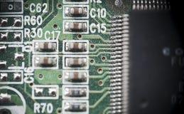 Computer-Chips Stockfotografie