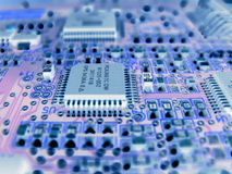 Computer chips stock photos