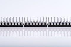 Computer-Chips getrennt Stockbild