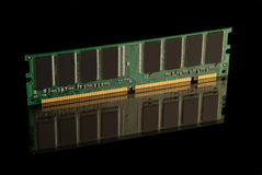 Computer chips RAM Royalty Free Stock Photo