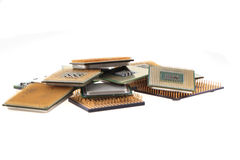 computer chips texture Stock Images