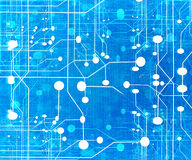 Computer circuit Royalty Free Stock Photography