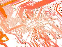 Computer circuit stock image