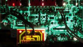 Computer circuit Stock Photo