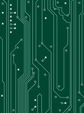 Computer Circuit Background. An illustration of a computer circuit background Royalty Free Stock Images
