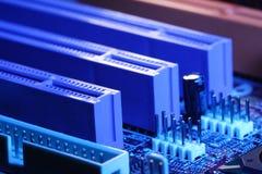 Computer circuit board. Biostar 4M80 Stock Photography