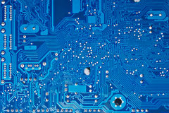 Computer circuit board. Close up of computer circuit board Royalty Free Stock Images