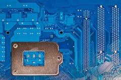 Computer circuit board. Close up of computer circuit board Royalty Free Stock Photos