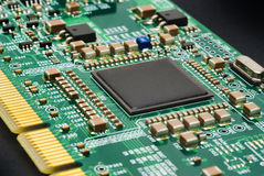 Computer circuit board Stock Photos