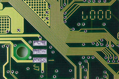Computer Circuit Board Royalty Free Stock Images