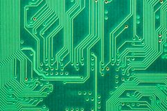 Computer circuit board. Close-up of computer Circuit Board Stock Photography