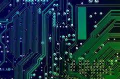 Computer circuit board Royalty Free Stock Photo