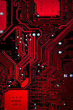 Computer Circuit Board background stock image