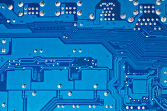 Computer circuit board background Royalty Free Stock Image