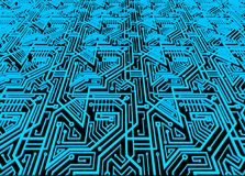 Computer circuit board background Royalty Free Stock Images