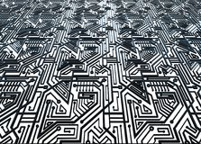 Computer circuit board background Royalty Free Stock Photos