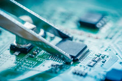Computer Circuit Board Stock Images