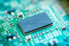 Computer Circuit Board. Close up of computer circuit board Royalty Free Stock Photo