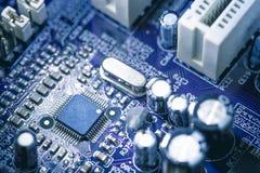 Computer Circuit Board. Close up of computer circuit board Stock Image