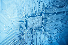 Computer circuit board closeu Stock Photos