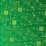 Computer circuit board design background. Computer circuit board abstract background, vector illustration Royalty Free Stock Photo
